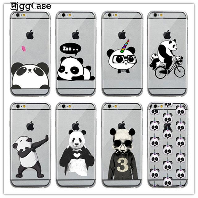 iphone 6 case gel panda