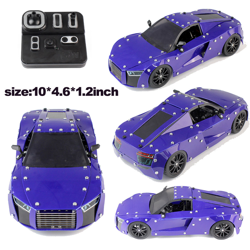 Children Gadgets RC Car Set Car Model 3D Puzzle Kid Toy STEM Education Toy Boys Gift Funny Children Toys funny gadgets for kids night light nine planets model puzzle assembled children science education toy