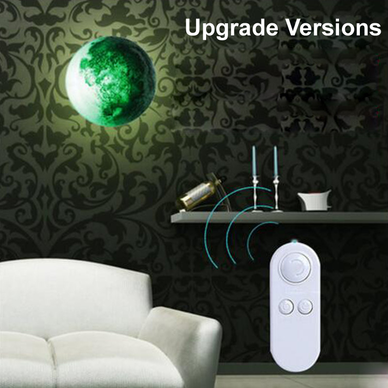 Moon Lights Bedroom: Led Moon Night Lights Kids Novelty Bedroom Wireless Wall