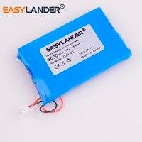 106090 7.4V 3600mAh Li Polymer Li ion Battery For Star finder DVD POWER BANK LED lamp Wearable Devices 956090 105889