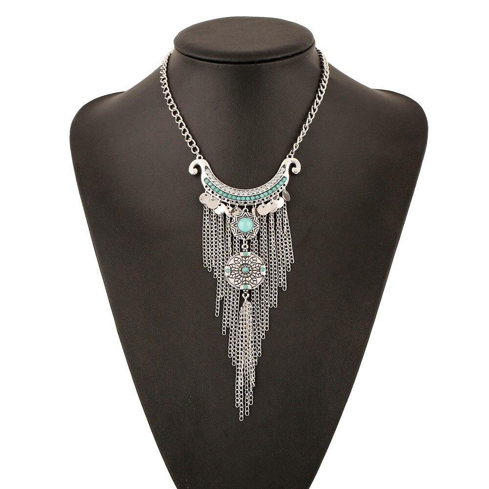 Boho Women S Tel Pendants Necklace