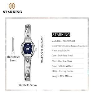 Image 5 - STARKING العلامة التجارية الجديدة الفاخرة النساء ساعة العلامة التجارية الشهيرة الذهب موضة تصميم سوار ساعة السيدات النساء ساعات المعصم Damske Hodinky