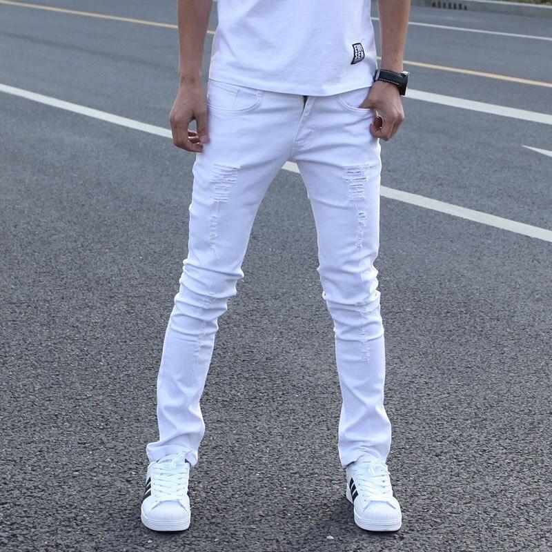 Popular White Super Skinny Jeans Men-Buy Cheap White Super Skinny