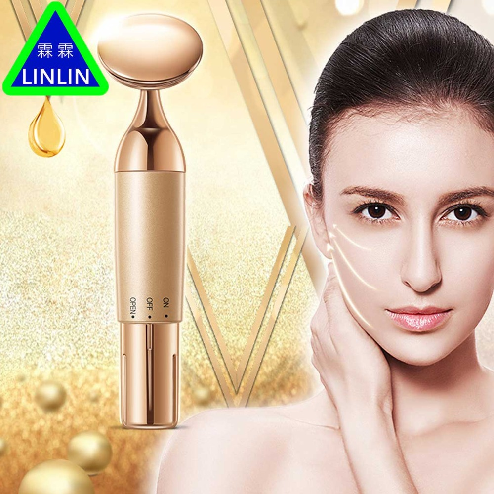 LINLIN Lip care device Lip pen iontophoresis Repair tender and moisturizing Beauty massage lip and