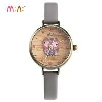 Reloj Mujer M:N: Luxury Brand Women Watches Waterproof Leather Bracelet Ladies Fashion Quartz Wrist Watch Clock Woman 2019 saat