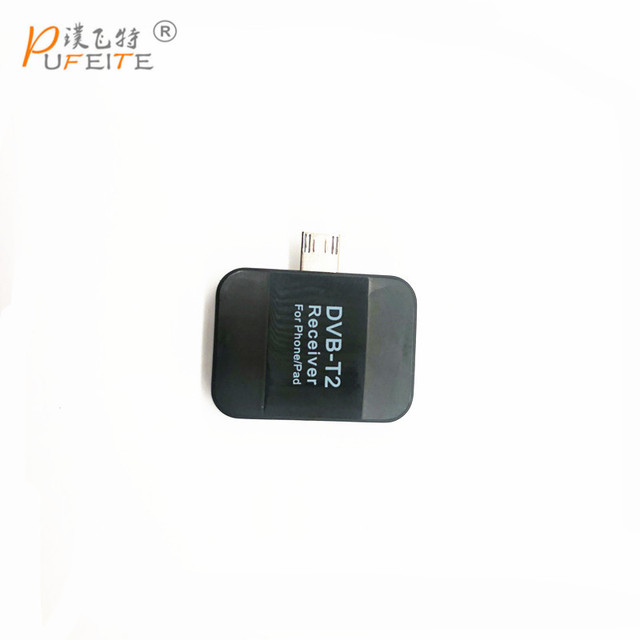 DVB-T2 Pad USB טלוויזיה מקלט dvb-t2 DVB T2 DVB-T Dongle טלוויזיה מקלט HD טלוויזיה דיגיטלית שעון לחיות טלוויזיה מקל עבור אנדרואיד Pad טלפון Tablet PC