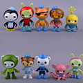 1PC New Cartoon The Octonauts Action Figure Toys Super Lovely Captain Barnacles Medic Peso Figures Model