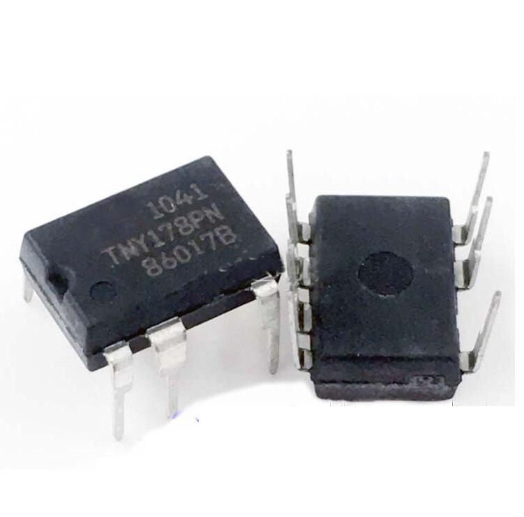 10PCS TNY178PN TNY178  DIP7 Integrated Circuit IC Liquid Crystal Power Chip