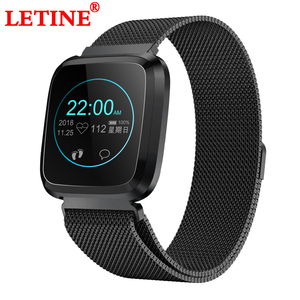 Fitness Tracker Wristband Swim Water-Resistant HD Color Screen Band Sedentary Reminder/Blood Oxygen/Sleep Monitor Smart Bracelet