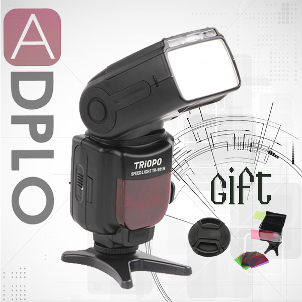 Buy 1 get 2 gift !TRIOPO TR-981 High-Speed Flash Speedlite 1/8000 Suit For Canon 5D 6D 5D 7D Mark III as Yongnuo YN-568EX цены онлайн