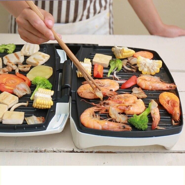 Здесь можно купить  220V Multifunctional Electric BBQ Grill Plate Machine Non-stick Electric Double Side Heating Plate Barbecue Breakfast Maker  Бытовая техника