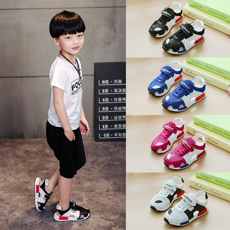 zomer van 2018 de nieuwe kinderen nette doek schoenen lederen - Kinderschoenen - Foto 1