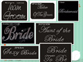 Free shipping (20pc/lot) Bride wedding supply stickers hot fix rhinestone transfers iron on applique patches design hot fix
