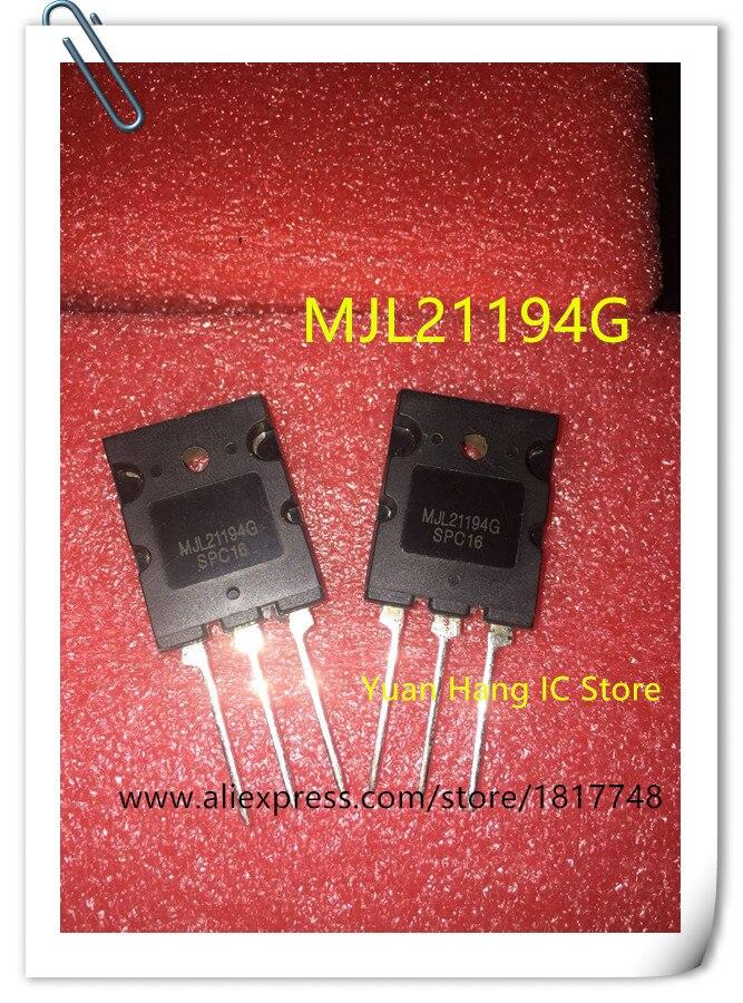 Free Shipping! 20pcs/lot MJL21194G MJL21194 L21194 21194 TRANSISTOR NPN 250V 16A TO264