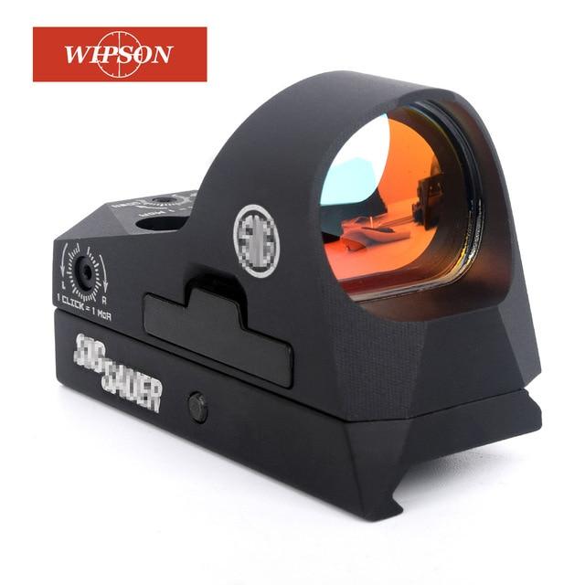 WIPSON ROMEO3 1x25 Mini Reflex Sight Fusil de Chasse 3 MOA Dot Réticule Red Dot Sight Portée Picatinny QD Mont pour MSR Fusils Carabines