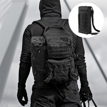 Multi-Purpose Tactical Molle Pouch Large Capacity Backpack Increment Pouch Short Trips Bag Foldable Portable Shoulder Bag