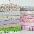 50*160 centímetros de tecido de malha de algodão crianças tecido estampado floral confecção de roupas de tecido do bebê diy bebê quilting tecido jersey
