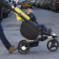 Accesorios Cochecito Cochecito de bebé gancho de almacenamiento organizador del Bolso Lateral carruage Carros suspensión colgante del coche de bebé bolsas de pañales