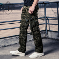 FuHao Brand Pocket Men S Camouflage Cargo Pants Men Fashion Trousers 4 Colors Man Army Tactical