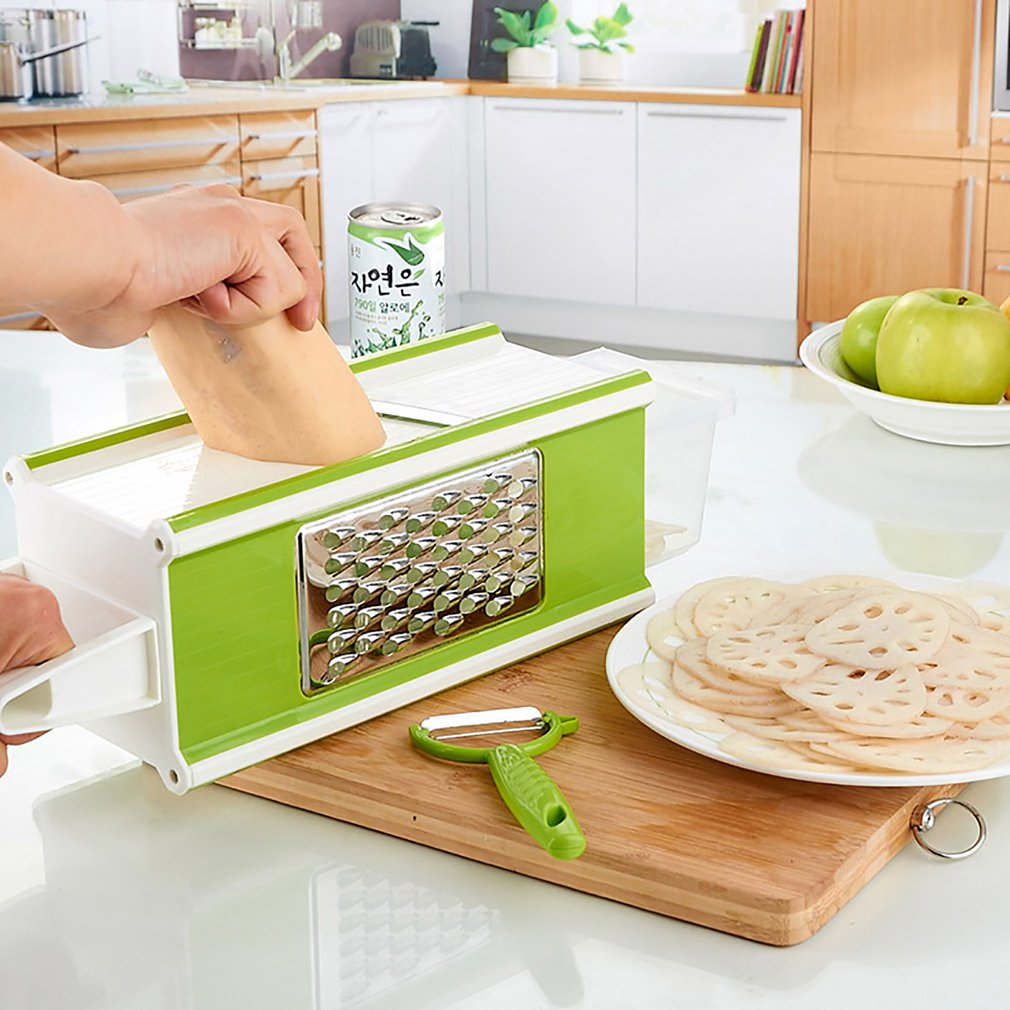 Multifunctional Vegetable Cutter Household Four In One Vegetable Chopper Household Kitchen Cutting ToolMultifunctional Vegetable Cutter Household Four In One Vegetable Chopper Household Kitchen Cutting Tool