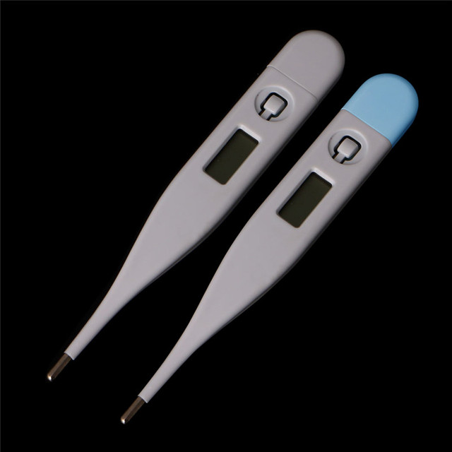 NEW 1xBaby Child Medical Digital LCD Adult Underarm Oral Body Fever Alarm Thermometer 1