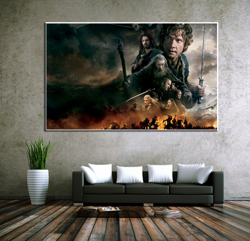 Middle earth the lord of the rings posters hd movie customized world middle earth the lord of the rings posters hd movie customized world map poster print decor canvas art picture abstract art in painting calligraphy from gumiabroncs Image collections