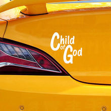 Child Of God Stickers Car Body Stickers Car Bumper Sticker Popuar Auto Decals