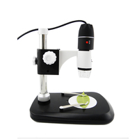 USB Digital Microscope 50X 1000X 2MP Endoscope Electronic Magnifier Camera With Holder Stand 8LED