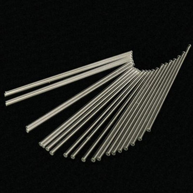 Quartz Capillary Tube OD3.3*ID0.9*L100mm/Silica Single-Bore Glass Capillary Tube/High Temperature Glass Tubes