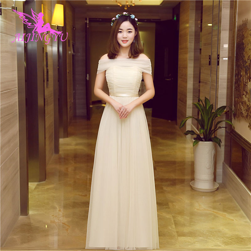 AIJINGYU 2018 fashion women s gown prom dress plus size bridesmaid dress  BN923 9a63246812d4