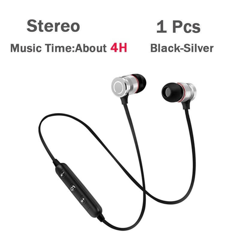 1Pcs Black-Silver