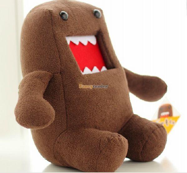 Fancytrader Novelty Toy! 20\'\' 50cm Super Cute Plush Soft Stuffed Big Mouth Domo Kun, Free Shipping FT50824 (1)