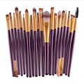20 pcs 6 cores Suaves Incrível Olho Pincéis de Maquiagem Cosmética Profissional Compo o Jogo de Escova do REINO UNIDO