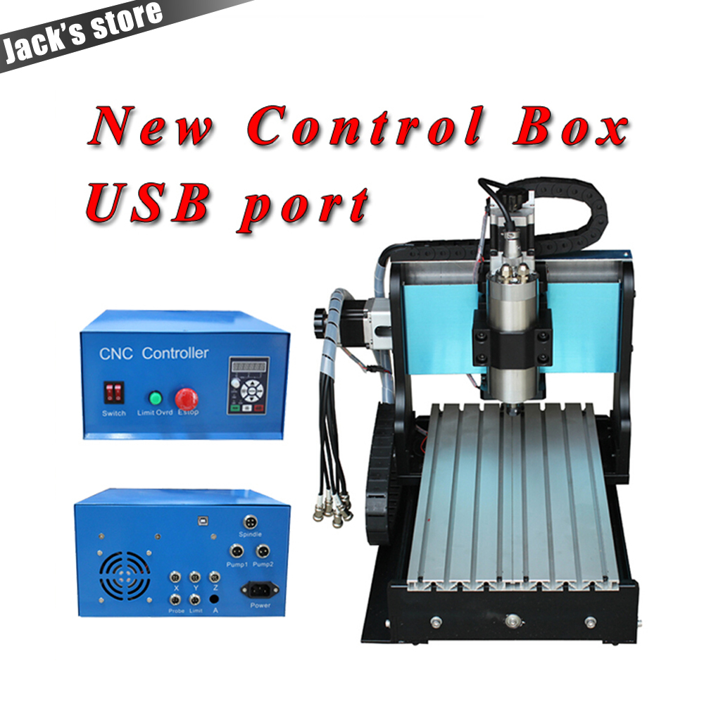 USB port !!! 3020Z-S++ ,CNC3020 800W Spindle +1.5kw VFD CNC Router water-cooling Metal engraving machiney cnc machine CNC 3020 1pc 4axis cnc router 6040z usb mach3 auto engraving machine with 1 5kw vfd spindle and usb port for hard metal 110 220v