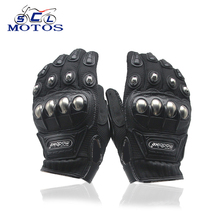 купить Sclmotos- Gloves Motorcycle Breathable Racing Glove Bike Bicycle Gear Knight Riding Racing Glove Luvas Da Motocicleta M/L/XL/XXL по цене 364.73 рублей