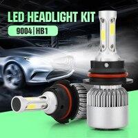 S2 1Pair Auto Auto Licht Led HB1/9004 Led 6000 Karat COOL white 80 Watt 8000LM COB Chip Autos Teil Lampe
