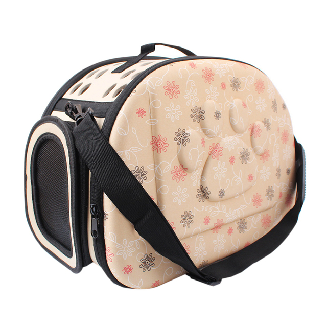 EVA Pet Carrier Dogs Cat Folding Cage Collapsible Crate Handbag Carrying Bags Pets Supplies Transport Chien Puppy Accessories 3