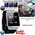 2016 Новый Smart Watch dz09 С Камерой Bluetooth Наручные Часы Sim-карты Smartwatch Для Ios Android Телефоны Поддержка Нескольких языков
