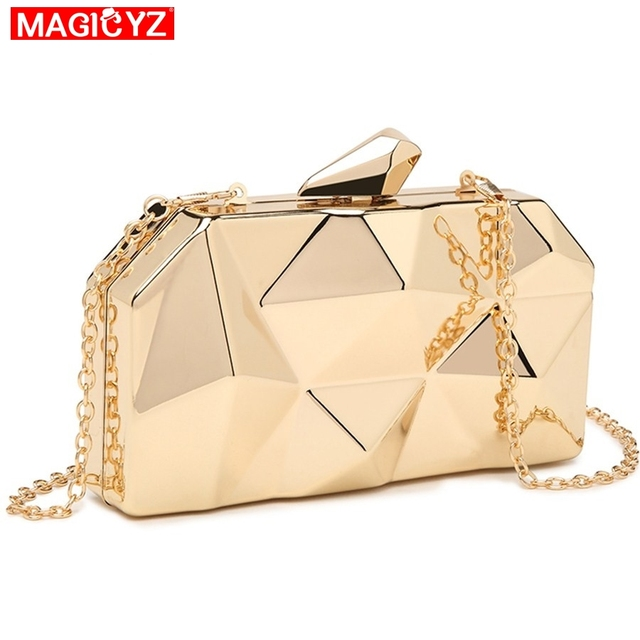 Acrylic Box Geometry Clutch Evening Bag 2