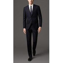wedding font b suits b font dark navy groom tuxedo for wedding groomsmen font b suit
