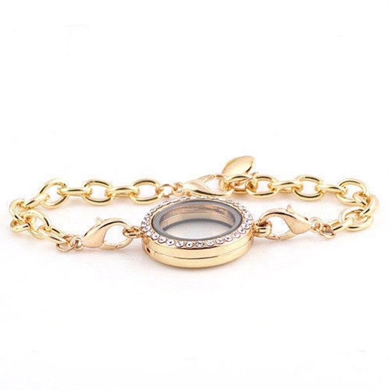 NEW Crystal Photo Frame Bracelet Living Memory Floating Charms ...
