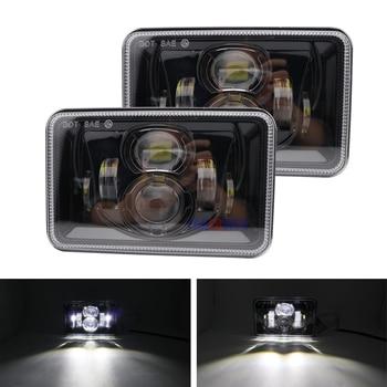 "4x6"" LED H4 Projector Headlight For Honda XR650 XR250 XR400 Suzuki LED Conversion Headlight Lamp For Honda Motorcycle Headlamp"