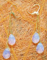 Miss charm 0000274 Beautiful Moonstone Earring