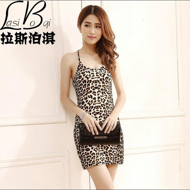 Бесплатная доставка 2016 дешевые MS новая мода сексуальные бренды летом большой размер женщины слинг длинный участок леопарда жилет юбка диких тонкий жилет