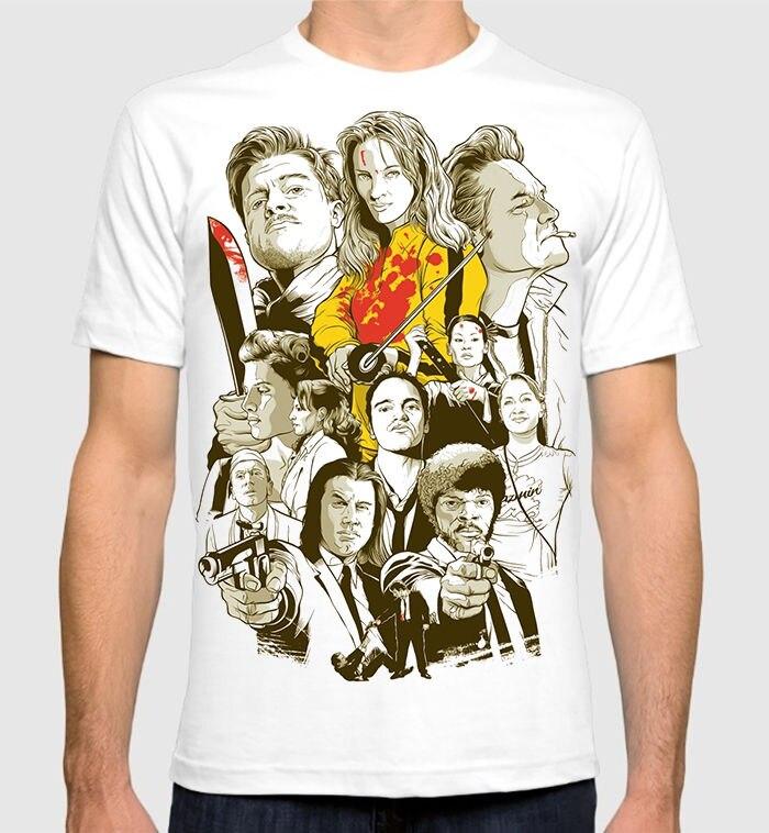 font-b-tarantino-b-font-all-movies-men's-women's-art-t-shirt-pulp-fiction-kill-bill-tee-new-2018-fashion-summer
