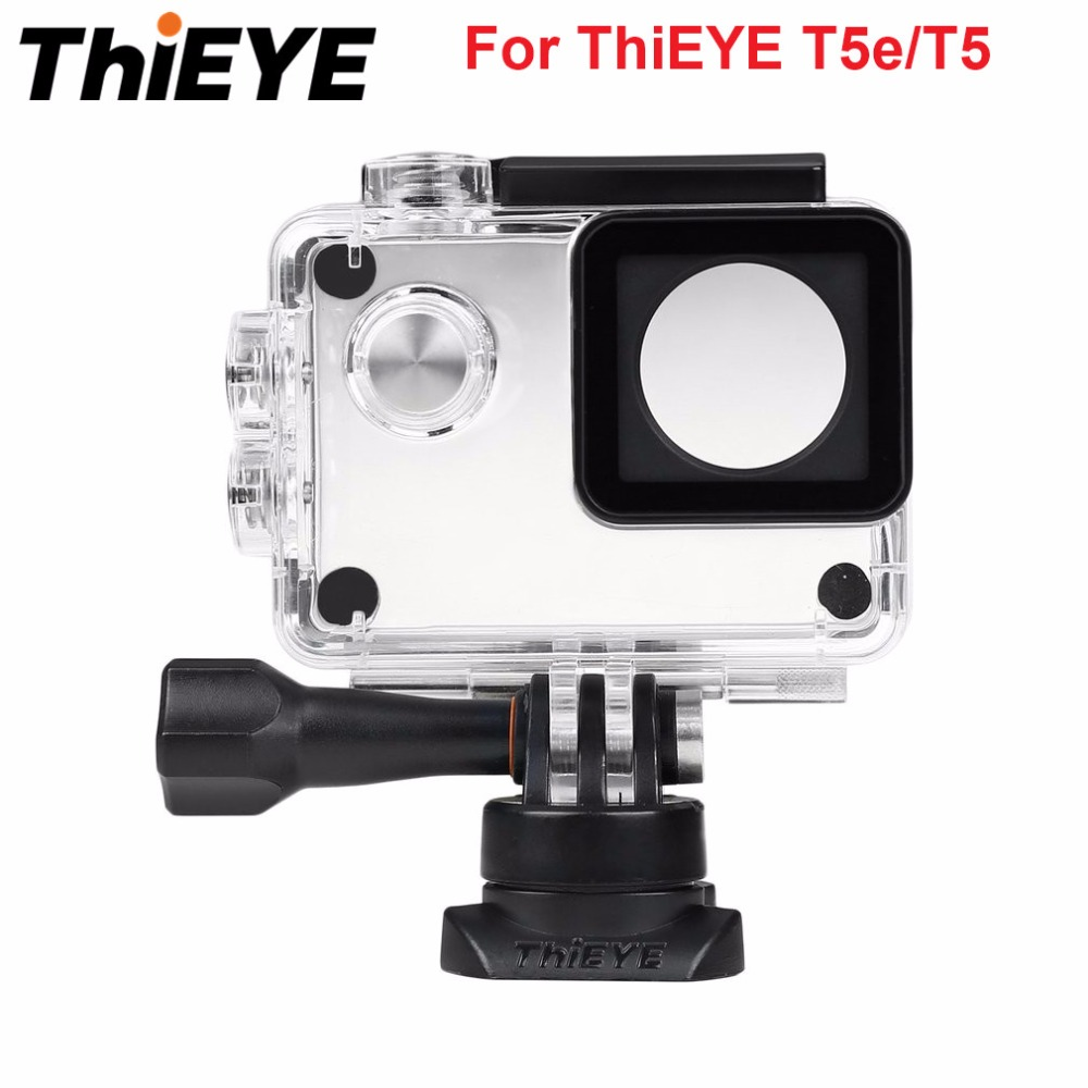 Original THIEYE IP68 Protective Case Cover Waterproof Housing Case Underwater 60M Diving Housing for THIEYE T5e/T5 Action Camera