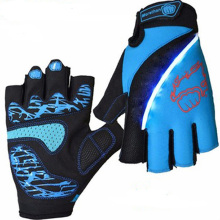 Outdoor Sports Racing Equipment Cycling font b Gloves b font Summer Half Finger Breathable Lycra Bicycle