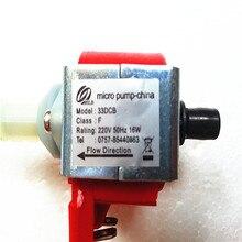 33DCB F класс 220 V 50 HZ 16 W микро-электромагнитный насос Сделано в Китае