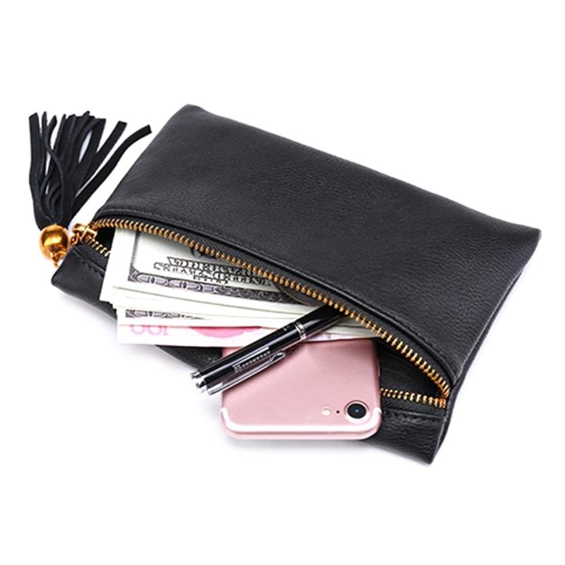 Vintage PU Leather Waist Bags New Fashion Tassel Waist Bag Pouch Belt Bags Trendy Fanny Pack Travel Wallet Case Mini Bags