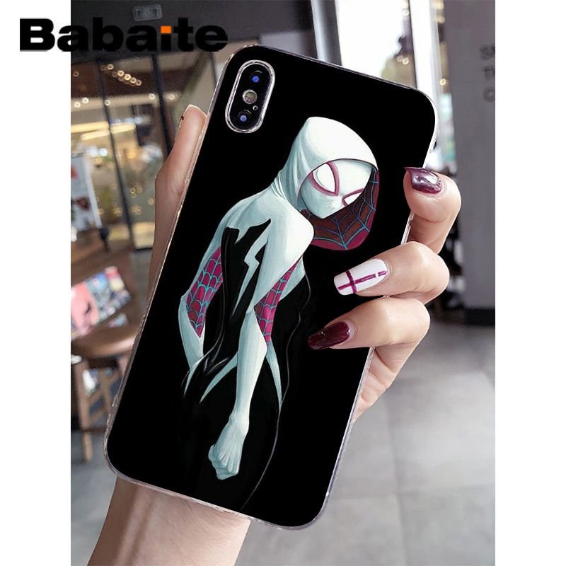 Babaite Spider Man Into The Spider Verse Diy Luxury High End Protector